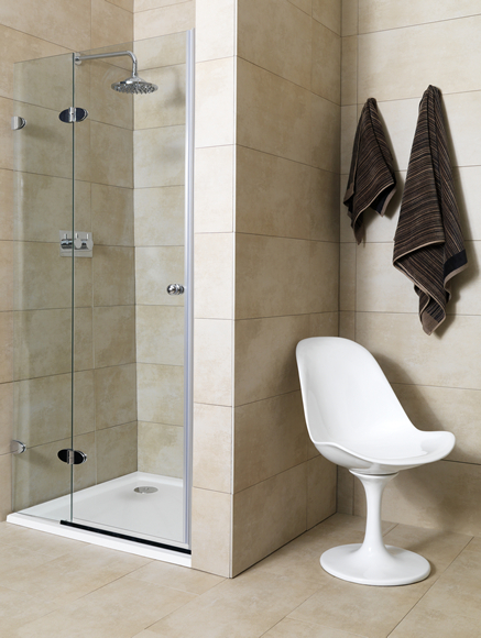 Linda-barker-2-part-shower-door-90-left & Barker Doors Reviews \u0026 Wood Choices When Ordering Barker Cabinets ... Pezcame.Com