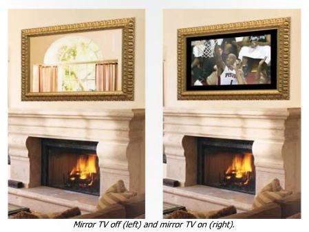 Raleigh custom lighted mirrors amp tv mirrors