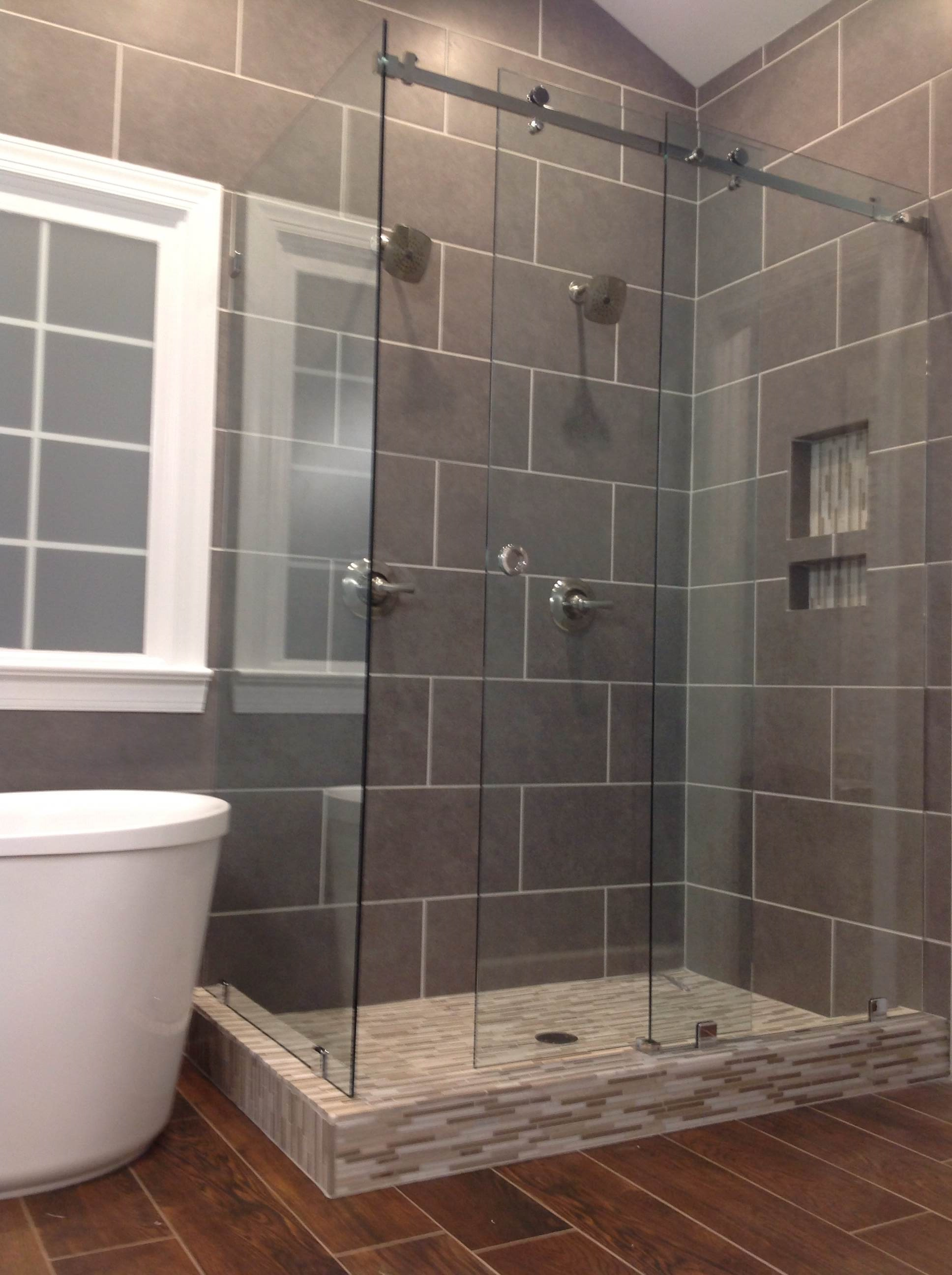 Bathroom Remodel Raleigh Nc frameless glass shower doors raleigh, nc | featured on hgtv's