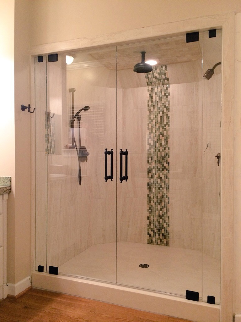Double Door Steam Shower – Mia Shower Doors