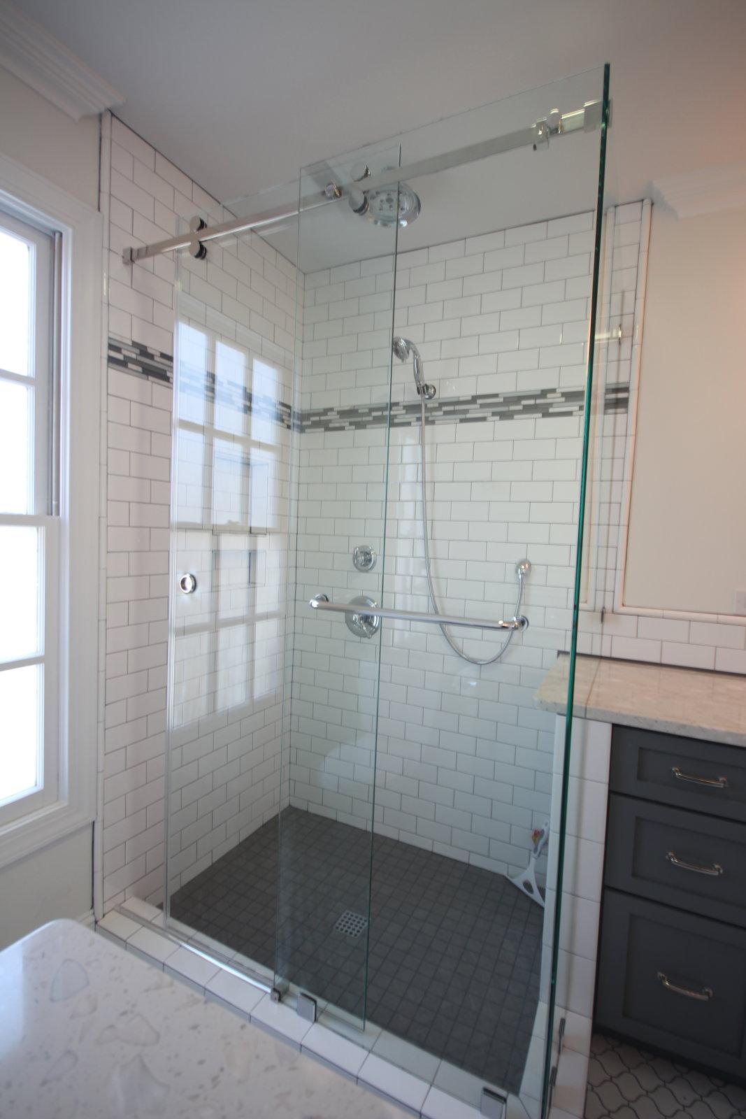 90 Degree Serenity Sliding Shower Enclosure Mia Shower Doors