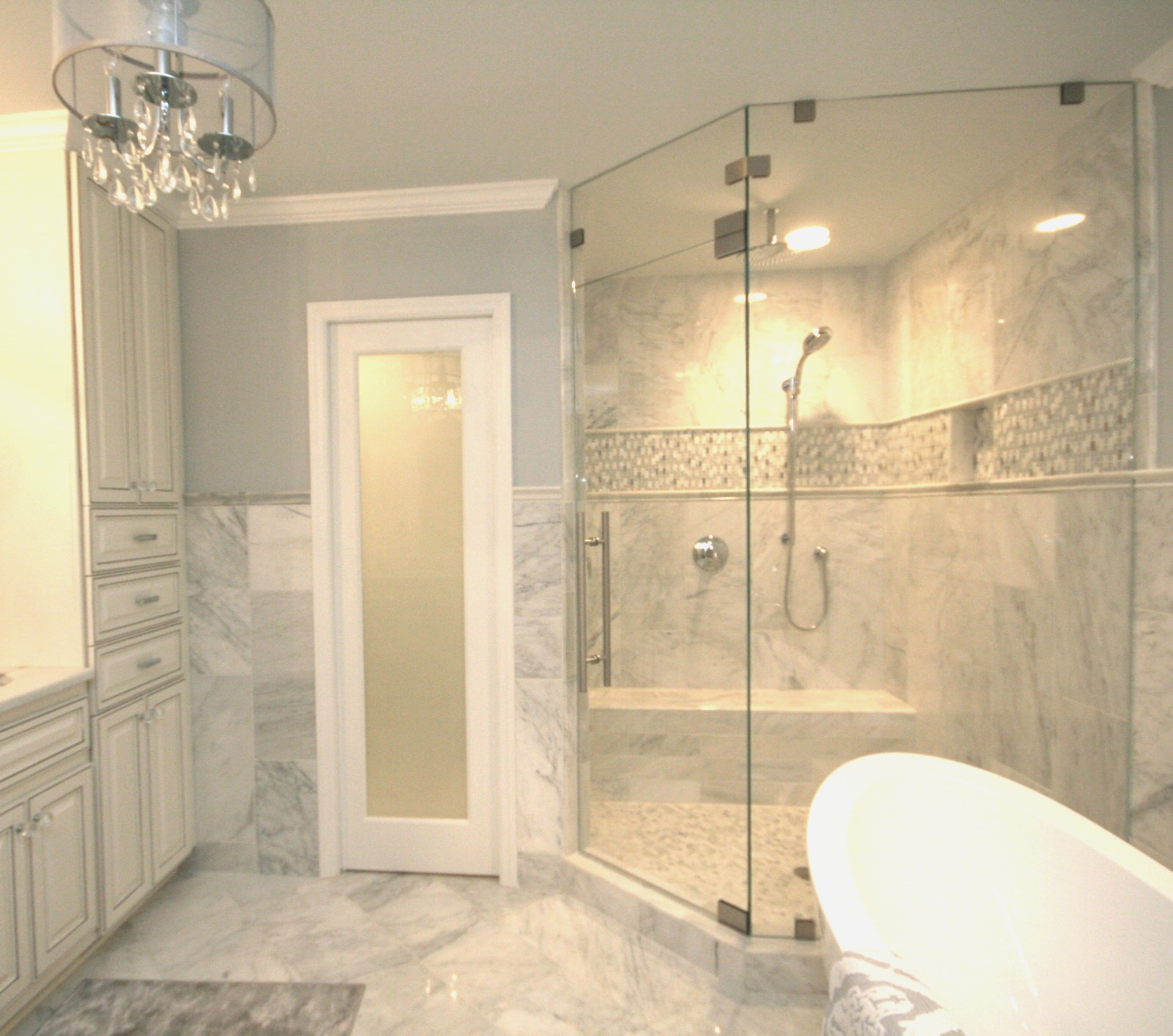 Small Bathroom With Frameless Shower: Gallery Of Frameless Showers
