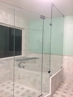 Custom Shower and Tub Enclosure