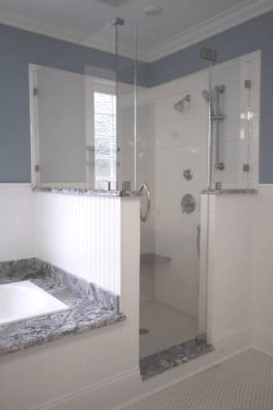 90 Degree Corner Shower