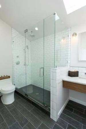 HGTV Stock Photo, A Shower We Installed In Raleigh