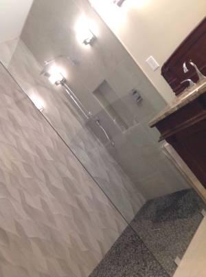 Large Splash Panel with corner notch