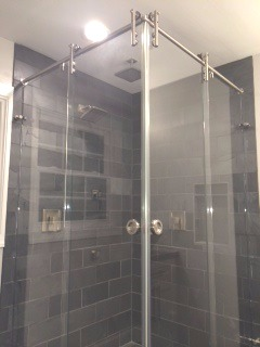 Double Door Corner Sliding Shower & Gallery of Frameless Showers u2013 Mia Shower Doors