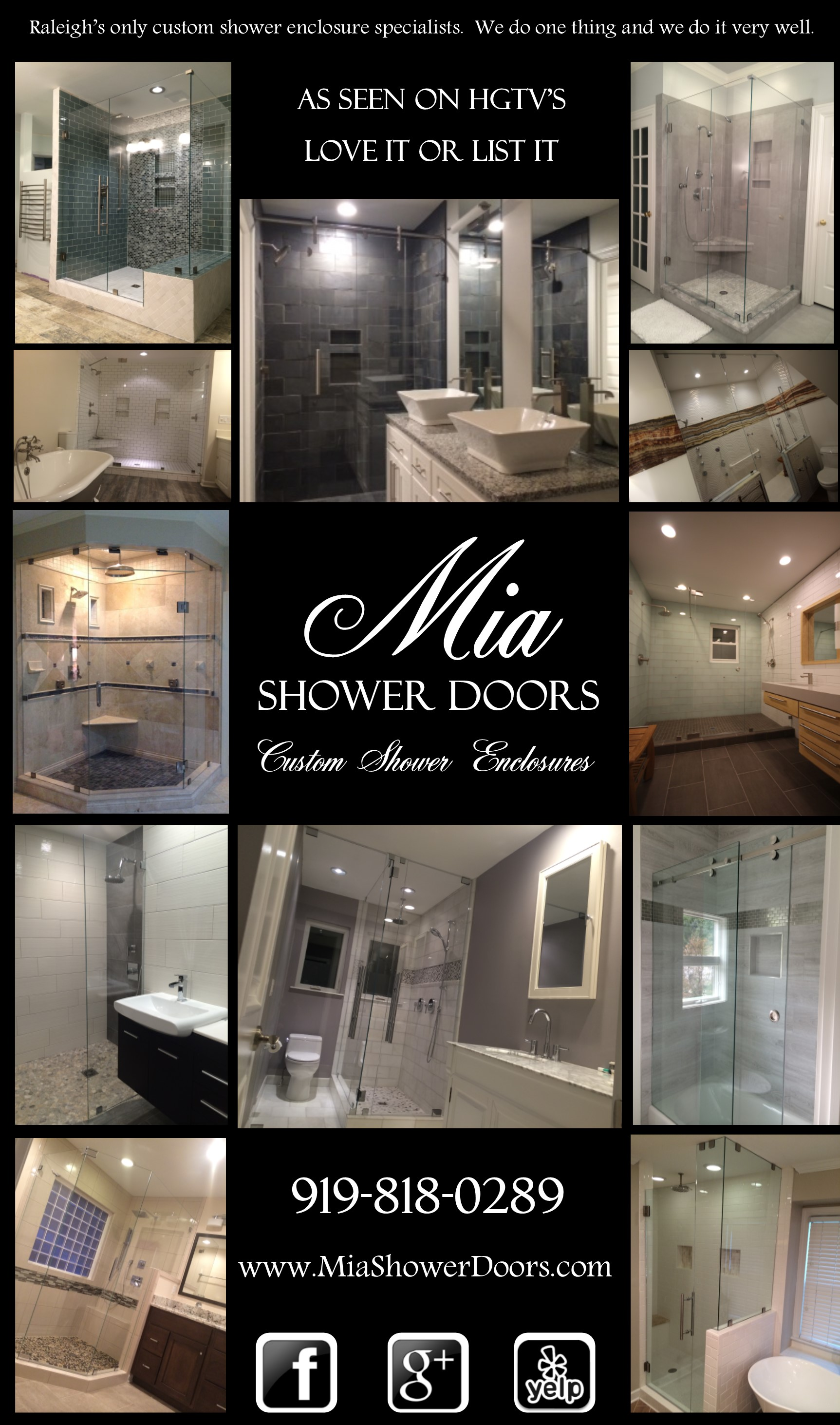 Shower Remodeling: Free Online Quote – Mia Shower Doors
