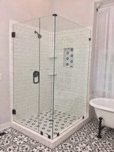 Mia Shower Doors Raleighs Only Custom Shower Enclosure - Seamless bathroom shower doors