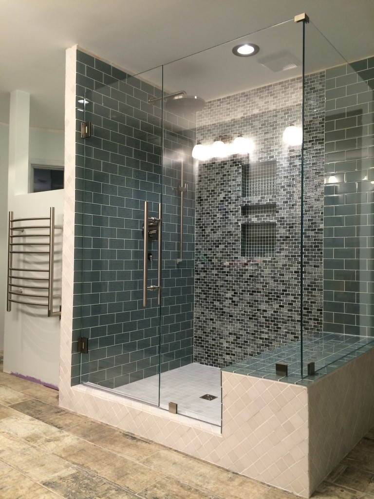 Seamless Glass Shower Enclosures