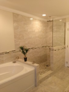 Glass Shower partitions Raleigh NC